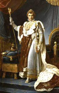 Francois Gerard Napoleon Ier en costume du Sacre faabff copie